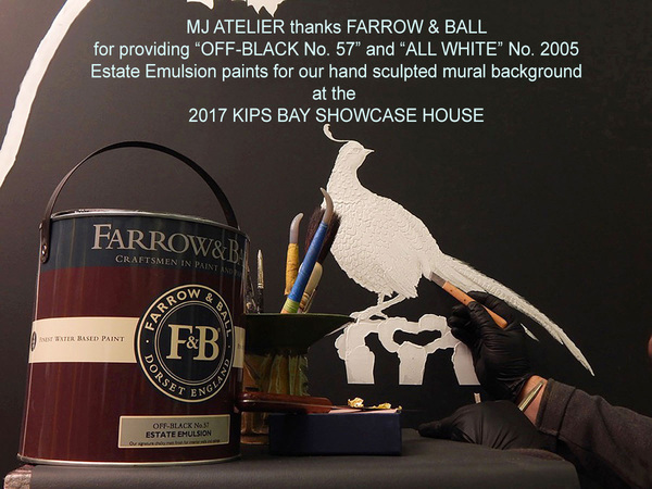 MJ ATELIER THANKS FARROW & BALL